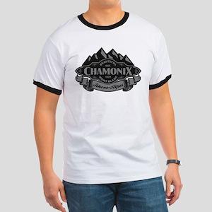 Chamonix Mountain Emblem Ringer T