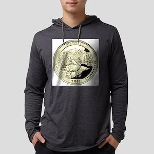 Washington Quarter 2011 Basic Mens Hooded Shirt