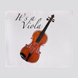 ItsAViola Throw Blanket