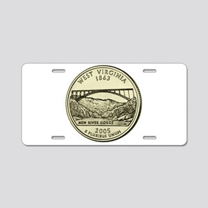 West Virginia Quarter 2005 Basic Aluminum License