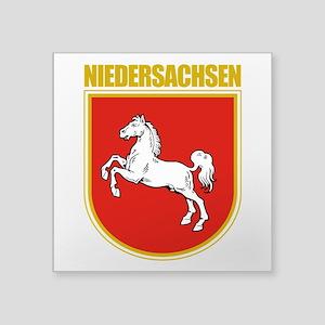 """Niedersachsen (Lower Saxony) Square Sticker 3"""""""
