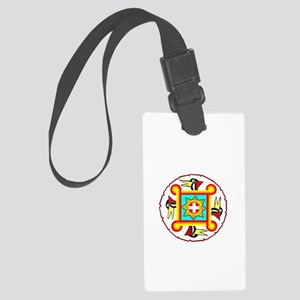 SOUTHEAST INDIAN DESIGN Large Luggage Tag