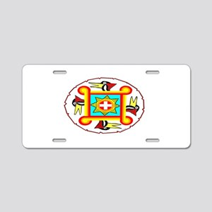 SOUTHEAST INDIAN DESIGN Aluminum License Plate