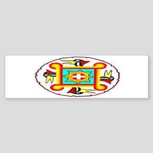SOUTHEAST INDIAN DESIGN Sticker (Bumper)