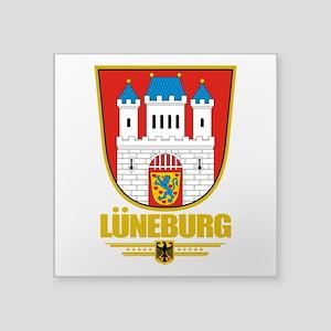 """Luneburg COA Square Sticker 3"""" x 3"""""""