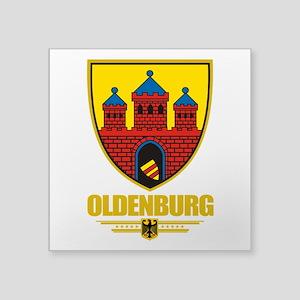 """Oldenburg COA Square Sticker 3"""" x 3"""""""