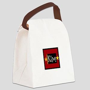 Kim Canvas Lunch Bag
