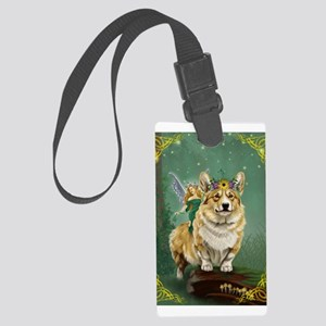 The Fairy Steed Large Luggage Tag