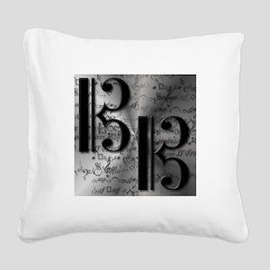 AltoClefCafePress Square Canvas Pillow