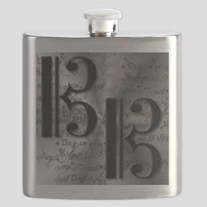 AltoClefCafePress Flask
