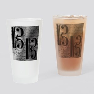 AltoClefCafePress Drinking Glass