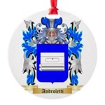 Androletti Round Ornament