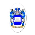 Androletti 35x21 Oval Wall Decal