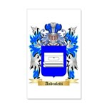 Androletti 35x21 Wall Decal