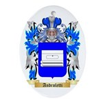 Androletti Ornament (Oval)