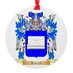 Androli Round Ornament