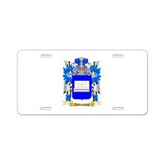 Andrusyak Aluminum License Plate