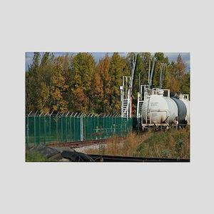 Siding Tanker Train