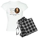 Ben Franklin - Fart Proudly Women's Light Pajamas
