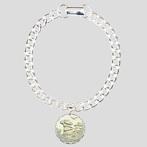 Illinois Quarter Basic 2016 Charm Bracelet, One Ch