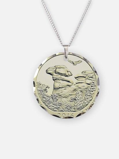 Illinois Quarter Basic 2016 Necklace