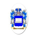 Andryushchenko 35x21 Oval Wall Decal
