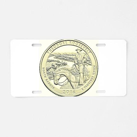 North Dakota Quarter 2016 Basic Aluminum License P