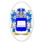 Andrzejewski Sticker (Oval)