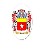 Anese Oval Car Magnet
