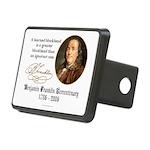 Ben Franklin on Blockheads Rectangular Hitch Cover