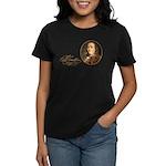 Ben Franklin on Blockheads Women's Dark T-Shirt