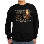 Ben Franklin on Blockheads Sweatshirt (dark)