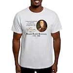 Ben Franklin on Blockheads Light T-Shirt