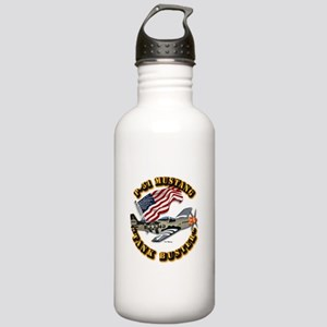 Aircraft - P51 Mustang Stainless Water Bottle 1.0L