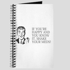 Shake your meds Journal