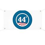 44 Squared Obama Banner