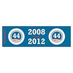 44 Squared Obama Sticker (Bumper 50 pk)
