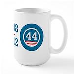 44 Squared Obama Large Mug