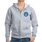 44 Squared Obama Women's Zip Hoodie
