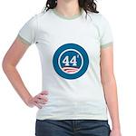 44 Squared Obama Jr. Ringer T-Shirt