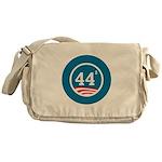 44 Squared Obama Messenger Bag