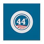 44 Squared Obama Tile Coaster