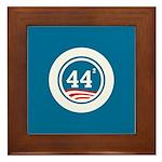 44 Squared Obama Framed Tile