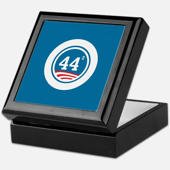 44 Squared Obama Keepsake Box