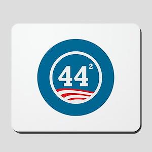 44 Squared Obama Mousepad