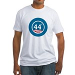 44 Squared Obama Fitted T-Shirt
