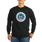 44 Squared Obama Long Sleeve Dark T-Shirt