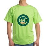 44 Squared Obama Green T-Shirt