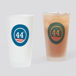 44 Squared Obama Drinking Glass