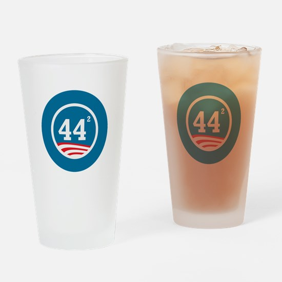 44 Squared Obama Drinking Glass